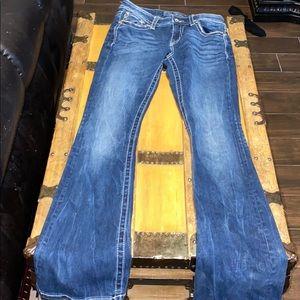 MissMe Jeans never worn 27x34 bootcut